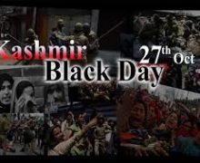 Pakistani People's observed as 'Black Day' October 27- 2020
